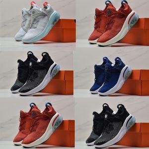 Bebé bebé recién nacido Nike Flyknit Joyride Run FK cabritos que se ejecutan las zapatillas de deporte Oreo cinabrio rojo azul de las muchachas de Entrenadores Casual