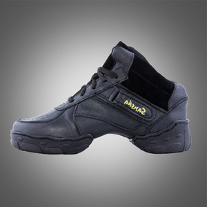 Free shipping B57 hot sale line dance shoes for mens hip hop shoes split leather sole dance shoes men hip hop dance sneaker