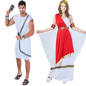 Fiesta de fiesta Cosplay Ropa Disfraz de Halloween Antiguo griego Romano Conjunto de ropa Heroico Adulto Real Traje de espadachín 06