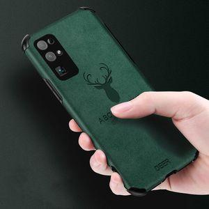Silicone souple en cuir pour Huawei Honor 8 x 9 x 20 V20 V30 Pro 20i cerf Logo Honor 30 30s Pro Couverture pour Huawei Phone Case