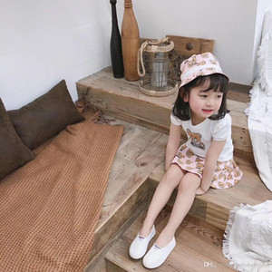 Baby Girls designer Dress Fly Sleeve Baby Clothes 100% cotton Princess Child Toddler Kids Dress For Girl Clothes Vestidos B51