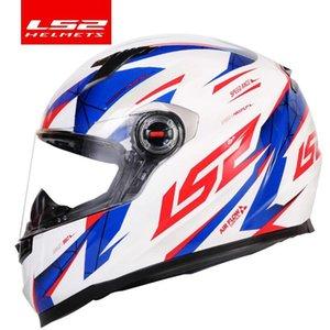 Certificação Original Ls2 Ff358 motocicleta capacete integral Ls2 Alex Barros Corrida Capacetes Casque Casco Moto Ece