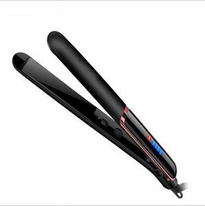 Escova Elétrica rápido Cabelo Straightener LED prata 2 em 1 Cabelo Multi-Styler Curling Auto Massageador Ferramentas endireita Ceramic