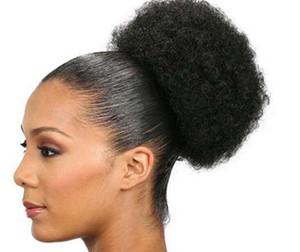 Kadın Sentetik Peruk Afrika Patlayıcı Kafa Peruk Saç Çanta Kabarık Saç Patlama Seti Patlayıcı Kafa Kabarık Kıvırcık Tırtıl Saç Çanta FZP170