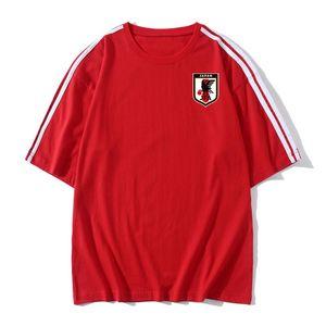 2020 Japan Soccer T-shirt Soccer Jerseys Short Sleeves T-shirt summer Sports Soccer training T-Shirts jerseys Football Men's T-Shirts