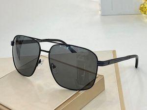 0022 diseñador de los hombres gafas de sol de metal atmósfera simple de madera hecho a mano de los vidrios de protección UV400 lentes láser con el caso de Fabricación