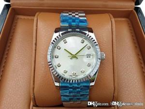Top brand di moda di lusso della vigilanza del movimento di sport in acciaio inox meccanico automatico da uomo della Mens Datejust Auto-vento orologi sportivi Wristw