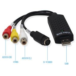 la moda tarjeta de captura de audio y vídeo USB de un solo canal Capture Card Av adaptador de la señal de vídeo Tarjeta de Adquisición de Datos