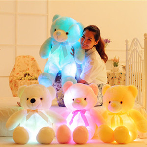 Kids Plush Toys 50 CM Glow + Music Cute Doll Toy Girls Birthday Present New Year Gifts PP Cotton 07