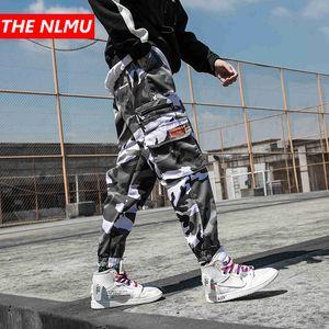 2019 Erkek Hip Hop Pantolon Yan Cepler Vintage Kamuflaj Kargo Pantolon Streetwear Rahat Harem Pantolon Askeri Tatical Pantolon WG17