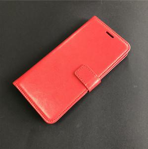 Per Motorola Moto G7 Gioca a G7 G7 Power revvlry Plus Custodia in pelle per portafogli Flip Crazy Horse A