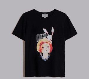 2020 new men's designer T-shirt fashion stylist short sleeve new round neck print high quality cotton T-shirt for men and women s s S-XXL