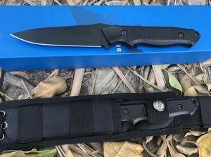Sıcak Kelebek 140BK kaplan av taktikleri düz bıçak Pocket Knife Açık Survival Kamp Bıçak orijinal kutusu Hediye Bıçaklar bm940 943