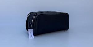 2019 Uomini di alta qualità 26CM borsa da toilette da viaggio design di moda borsa da lavaggio per donna borse cosmetiche di grande capacità borsa da toilette per trucco