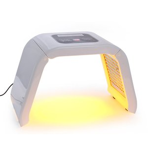 Portable LED PDT Thérapie Photodynamique De La Peau Beauté Photon Rajeunissement De La Peau Traitement De L'acné Rouge Bleu Vert Jaune 4 Couleurs Lumière