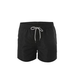 Hombres de diseno de verano pantalones cortos de la playa forman los cortocircuitos impresa letra del lazo de Cortos 2019 Relajado pantalón de lujo Homme
