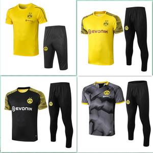 2018 2019 2020 Borussia Dortmund Estate calcio Tuta manica corta pantaloni 3/4 18 19 calcio tuta REUS Formazione