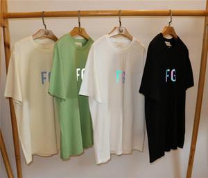 3M 반사 FOG 필수 T 셔츠 남성 워메 캐주얼 1 : 1 FG 후기 여름 스타일 필수 T 셔츠 맨 티 V200410