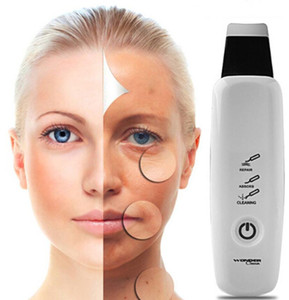 Dispositivo de limpeza ultra-sônico do poro do limpador da cara Remoção da acne da pústula Tratamento facial do elevador de beleza do Massager Máquina do elevador