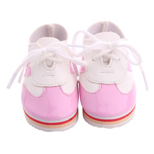 Charming Bling Bling Casual Shoes for 18inch American Doll Dress Up Decoration