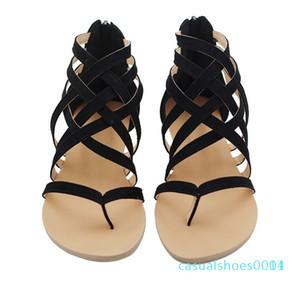 Womens Shoes Hee Sandals 2020 Hot Sale Hollowed & Flip Flops Breathable Summer Plus Size Female Black   Grey   Pink c14