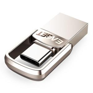 (الجيل الجديد) EAGET نوع C محرك فلاش USB 16 جيجابايت محرك USB 32 جيجابايت 64 جيجابايت 128 جيجابايت قرص بندريف usb عصا لهواوي للهواتف المحمولة
