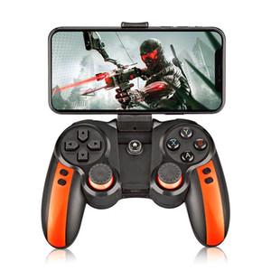 Bluetooth Gamepad Denetleyicisi Gen S8 Kablosuz Oyun Gamepad W / Turbo Hızlanma Genişleyen Telefon Tutucu