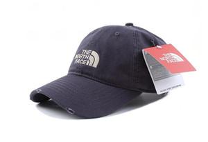 bateau libre 2019 La vente chaude North Outdoor Baseball Cap Sun Hat 37 face noir, rose et blanc couleur
