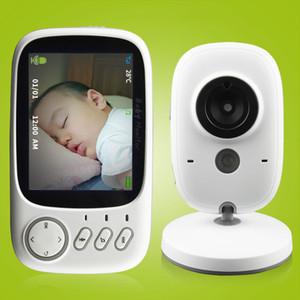 3,2 polegadas Wireless Baby Monitor de vídeo colorido de alta resolução do bebê Nanny Segurança Night Vision Camera Monitoramento de temperatura