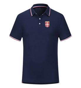 serbien 2020 kurze Hülsenmänner Geschäft Sports beiläufige Sommer neue Polo-Shirt Größe kann DIY modische Herren-Polo sein