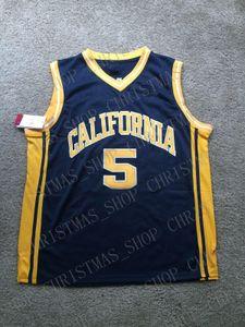 personalizado Jason Kidd Vintage California Golden Bears NCAA Basketball Jersey ponto personalizar qualquer nome número HOMENS MULHERES JOVENS XS-5XL