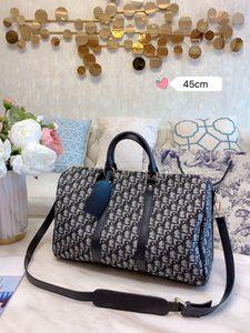 Top C D designer luggage bags designer duffle bag 45cm letter logo 2020 fashion designer travel bag