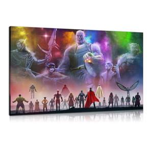 HD Imprimé Affiches Film Peinture à l'huile Décoration murale Art sur toile Avengers Infinity War Unframed