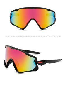 Gros-cyclisme Lunettes de soleil pour homme femme Courir Conduite Pêche Golf Baseball Lunettes de sport en plein air AEyeglasses Lunettes design de mode