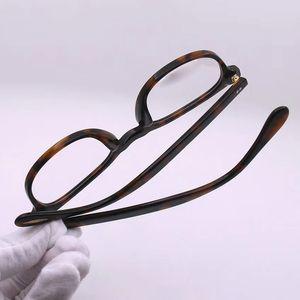 Las mujeres al por mayor de lujo-Frame Designer Glassesframe plaza retro plateado 5036 EyeglasFor para hombre simple estilo popular de calidad superior con la caja