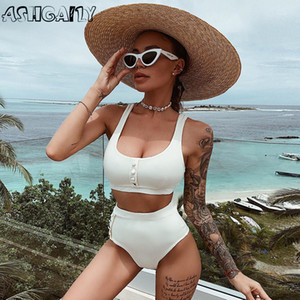 2020 neue reizvolle Bikini-Bogen-Bikini-Frauen-Badeanzug Push-Up Swimwear Frauen Badeanzug brasilianischen Bikini Set Swim Wear Biquini