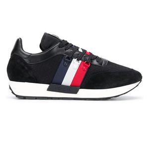 Moncler 2020 europäische Station Luxus-Ledersportschuhe für Männer lässig vielseitig Stretch-Stoff atmungs Mode Schuhe yhm01 Männer
