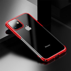 Caso de chapeamento de luxo para o iphone 11 2019 case rígido pc tampa traseira para iphone xi xir xs max 2019 capa protetora