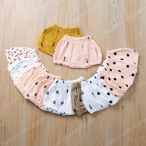 INS bebé cereza cactus rábano impresión Pantalones cortos Niño PP pantalones muchachas de los muchachos del pan pantalones bombachos de verano para niños Calzoncillos Calzoncillos 11 estilos