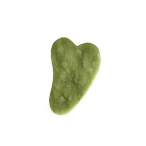 JD008 Natural Green Jade Guasha Board for gua sha scraping therapy treatment