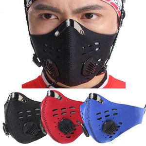 2020 neue Maske Anti-Verschmutzung Anti-Staub-Motorrad einen.Kreislauf.durchmachenreiten Snowboarding Halbgesichtsmasken Klettern Non-Woven-Gewebe fy9037 38 39