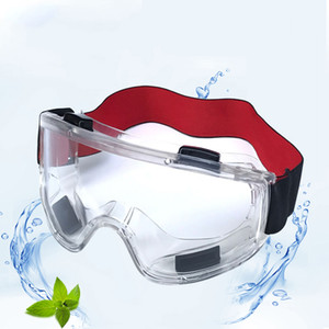 Ergonomic Protective óculos anti nevoeiro Equitação de Trabalho Mining Eye PVC à prova de vento Safety Goggles Óculos Limpar Proteção