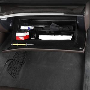 Car Styling Copilot Glove Box Storage Box Black For Mercedes Benz GLE W167 2020 Auto Interior Organizer Accessories