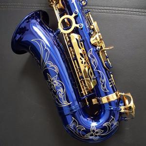 액세서리 높은 품질 알토 색소폰 E 플랫 스즈키 블루 색소폰 골드 키 알토 색소폰 음악 악기