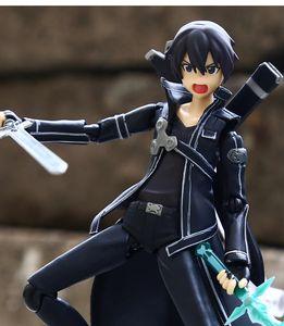Azione Anime Sword Art Online Alter Yuuki Asuna Kirito PVC Figure modello di raccolta di compleanno giocattoli del regalo