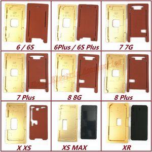 Новый выравнивание формы стекла ЖК-дисплей ОСА + резиновая накладка ламинатора для iPhone 6 6S 7 8 / Plus X XS XS Макс XR