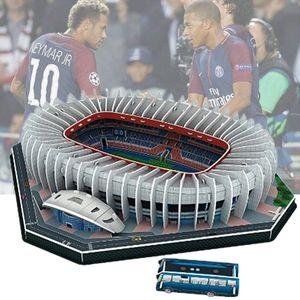 Классический Jigsaw 3d Puzzle Architecture Stadio France Parc Des Princes Футбольные Стадионы Игрушки Масштабные Модели Устанавливает Строительную Бумагу Q190530