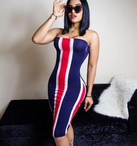 Hot sale women Casual Dresses summer print sexy sheath dress ladies sexy night club robe femme