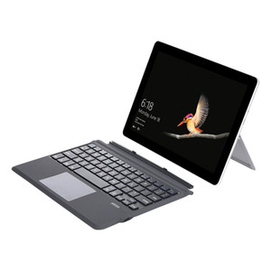 Magnetic Absorption Wireless Keyboard with Touchpad for Microsoft Surface Go GO 2 Tablet Ultra Slim Portable Bluetooth Wireless Keyboard