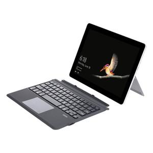 La absorción magnética teclado inalámbrico con touchpad para Microsoft / Superficie Go GO 2 Tablet ultra delgado teclado portátil inalámbrico Bluetooth